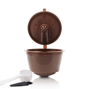 New 3rd Generation Nescafe Dolce Gusto Coffee Capsule Pod Filters Cup Refillable Reusable Dolci Gusto Coffee Dripper Tea Baskets