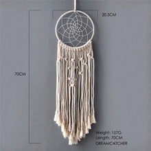 Load image into Gallery viewer, nordic dreamcatcher tapestry handmade dreamcatcher  macrame dreamcatcher lhanging room decoration gift for women men