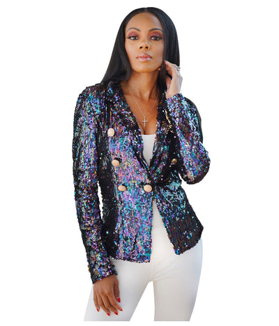 Sasha Sequin Jacket