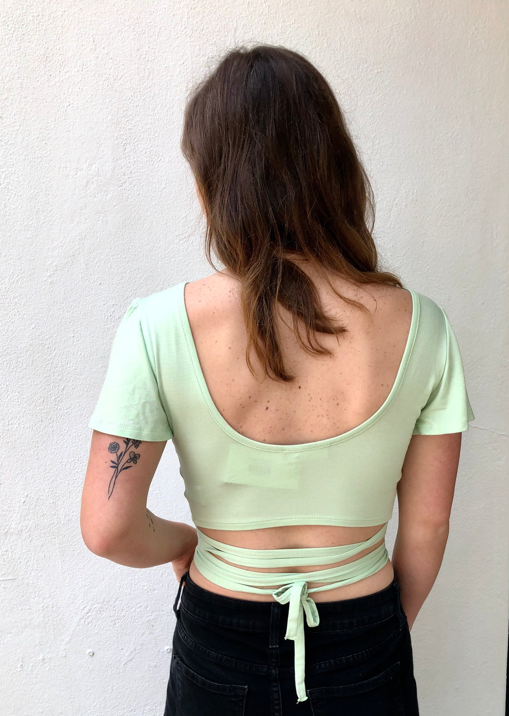 Strappy Wrap Top
