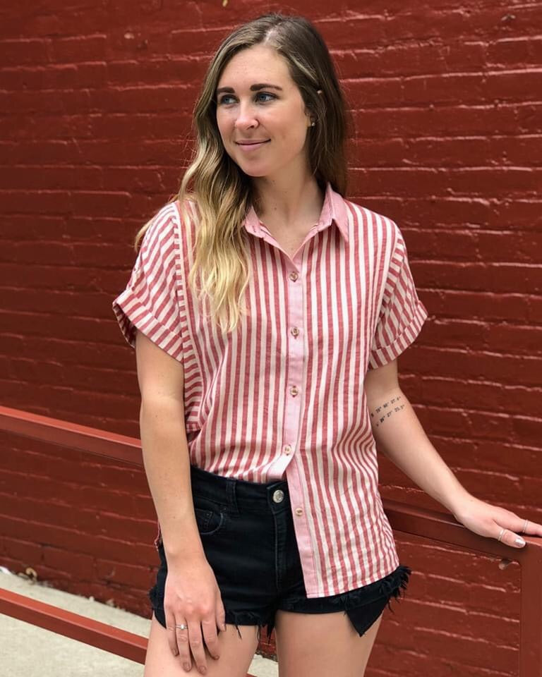 City Girl Button Down