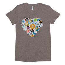 Crypto Love Women's Crew Neck T-shirt - TC Merch