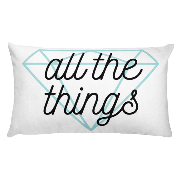 All the Things - Premium Rectangular Pillow