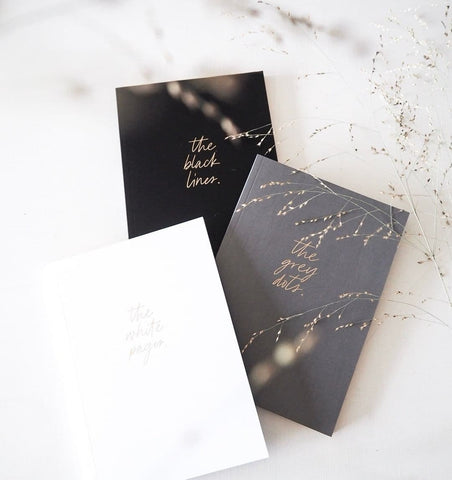 notebook A5 white lines Real passionates luxe