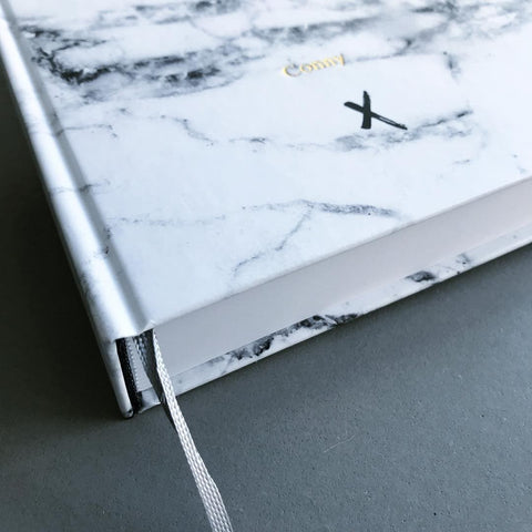 notebook A5 marbre Real passionates luxe