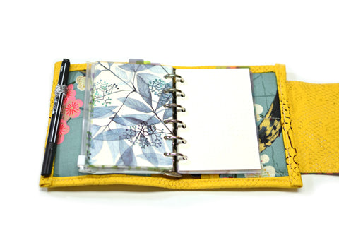 intercalaires fleuris onglets pour pocket planner A7