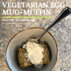 Recipe: Vegetarian Egg Mug-Muffin