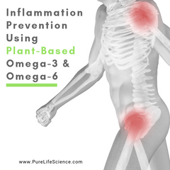 Inflammation Prevention Using Plant-Based Omega-3 & Omega-6