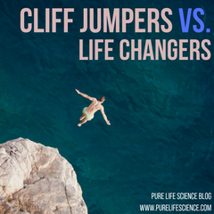 Cliff Jumpers Vs. Life Changers