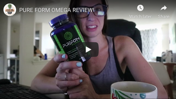 Pure Form Omega Natural Review | Glitz and Gluten-Free