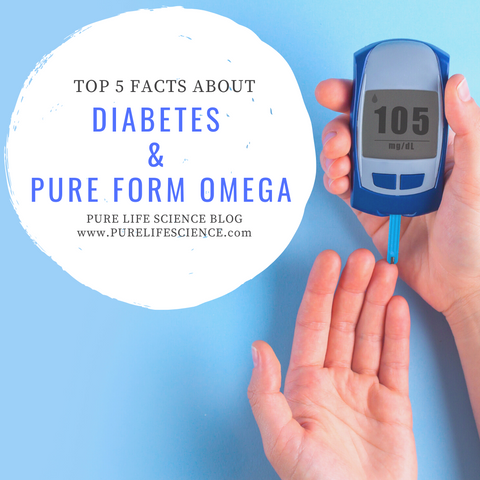 Top 5 Facts About Diabetes & Pure Form Omega | Blog | Pure Life Science