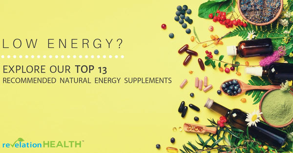 Revelation Health Top 13 Recommended Natural Energy Supplements | Pure Life Science