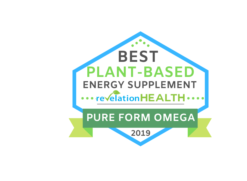 Best Plant-Based Energy Healing Supplement - Pure Form Omega - 2019 | Revelation Health