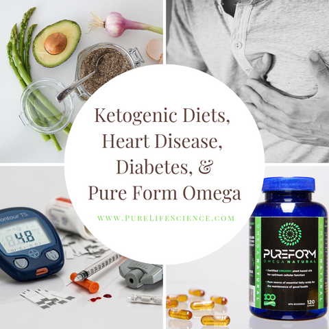 Ketogenic Diets, Heart Disease, Diabetes & Pure Form Omega | Pure Life Science