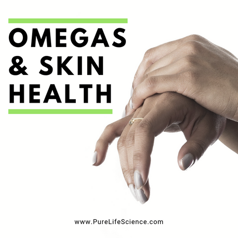 Omegas & Skin Health | Pure Life Science