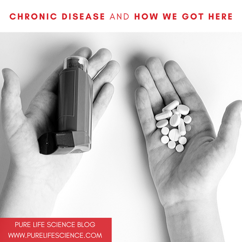 Chronic Disease and How We Got Here | Blog | Pure Life Science