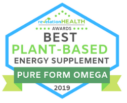 Revelation Health Awards Pure Form Omega Best Plant-Based Energy Supplement | Pure Life Science