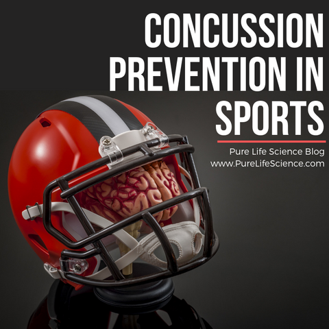 Concussion Prevention in Sports | Pure Life Science