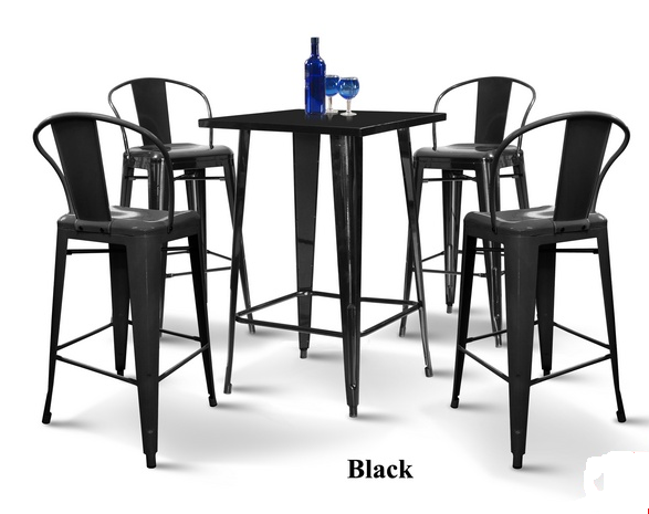 Metal Bar Table & Stool supplier in Malaysia by M&N Furniture Trading Sdn Bhd