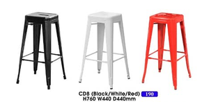 Metal Bar Stool supplier in Malaysia by M&N Furniture Trading Sdn Bhd