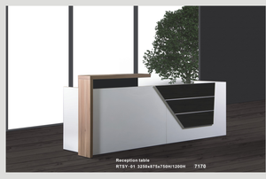 Reception Counter-Office Furniture Malaysia / Reception table - Kajang office furniture store