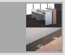 Load image into Gallery viewer, Reception Counter-Office Furniture Malaysia
