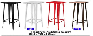 Metal Bar Table supplier in Malaysia by M&N Furniture Trading Sdn Bhd