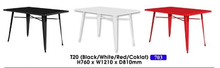 Load image into Gallery viewer, Metal Dining Table supplier in Malaysia by M&N Furniture Trading Sdn Bhd