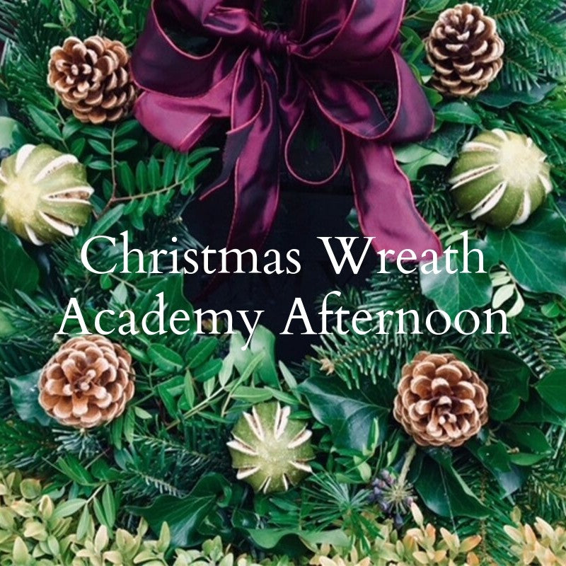 Christmas Wreath Academy Afternoon