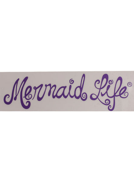 Mermaid Life Decal-Purple
