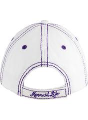 Shimmer and Shell Cap-White