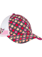 Mermaid Tail Cap-Pink