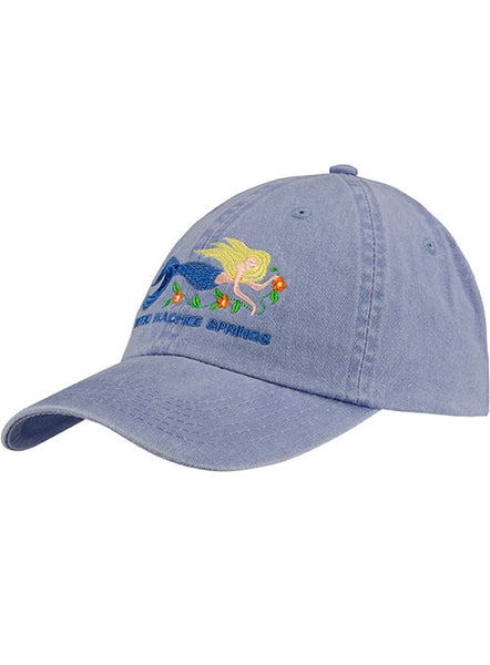 Weeki Wachee Springs Mermaid Cap-Blue