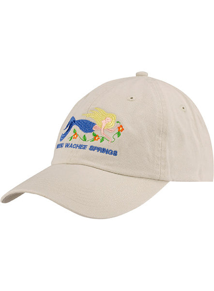 Weeki Wachee Springs Mermaid Cap-Beige