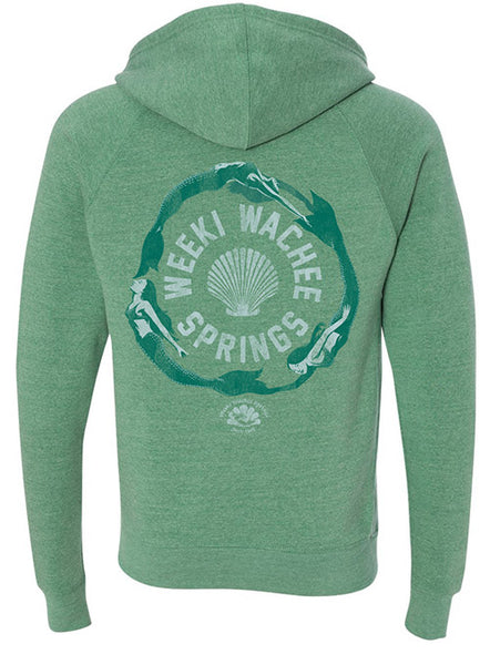 Circle of Mermaids Full Zip Hood