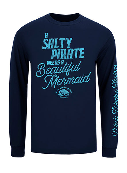 Salty Pirate Long Sleeve T-Shirt