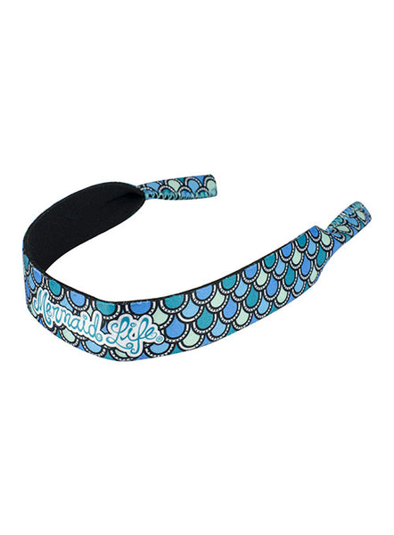 Mermaid Scales Sunglass Strap-Aqua