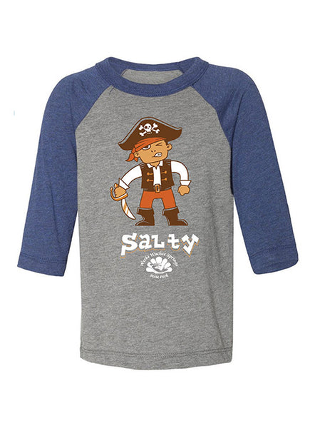 Toddler Salty Pirate Raglan T-Shirt