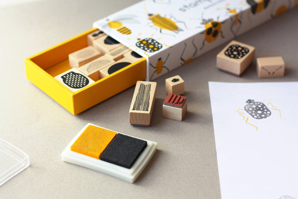 Stamps + Stamp Pads