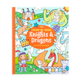US stockist of Ooly's Knights and Dragons coloring book.  Features 31 pages of medieval knights, dragons, castles and more.  Perforated pages for easy removal.