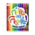 US stockist of Ooly's Make No Mistake Erasable Markers.  Set of 12.