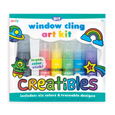 US stockist of Ooly's DIY Creatibles Window Cling Art Kit. Contains six colors and traceable designs.