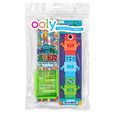 US stockist of Ooly's Monsters Happy Pack.  Contains  set of 6 graphite pencils, 3 monster erasers and a pencil sharpner.