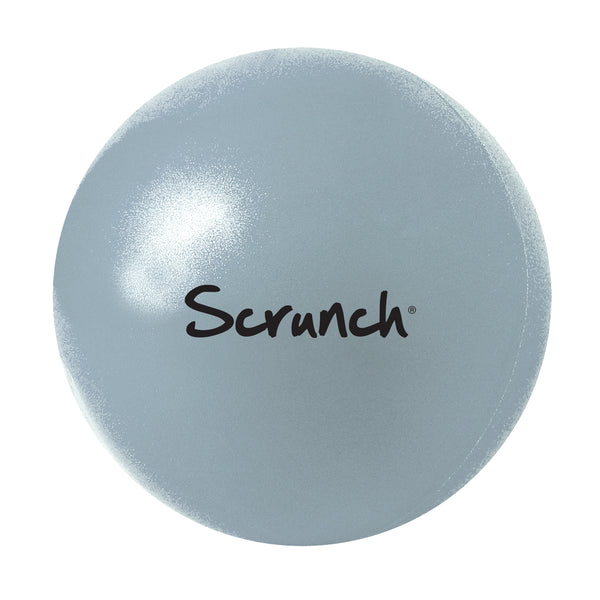 US stockist of Scrunch's ball in duck egg blue.  Made from non-toxic, recyclable, phthalate free pvc.  Comes with straw to inflate.  Deflate, scrunch roll and fold for easy transport.