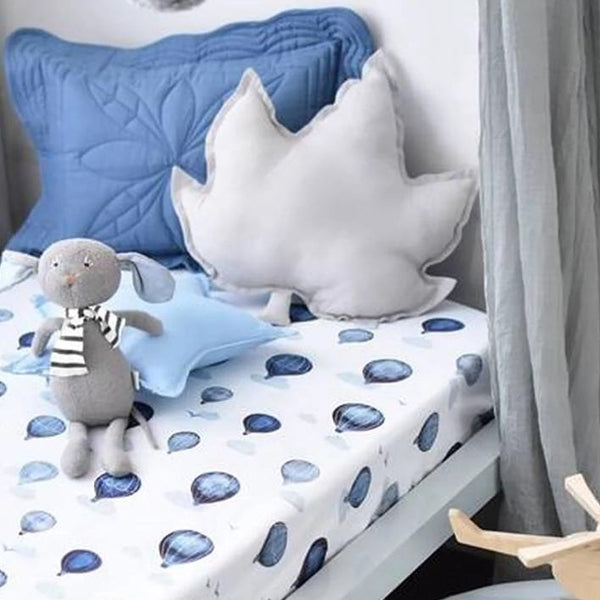 US stockist of Snuggle Hunny Kids cloud chaser crib sheet