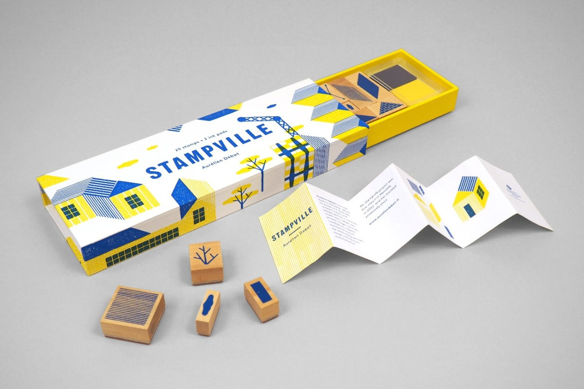 Stockist of Princeton Architectural Press Stampville Stamp set