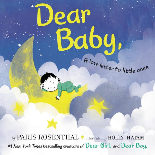 Stockist of Paris Rosenthal's Dear Baby book.