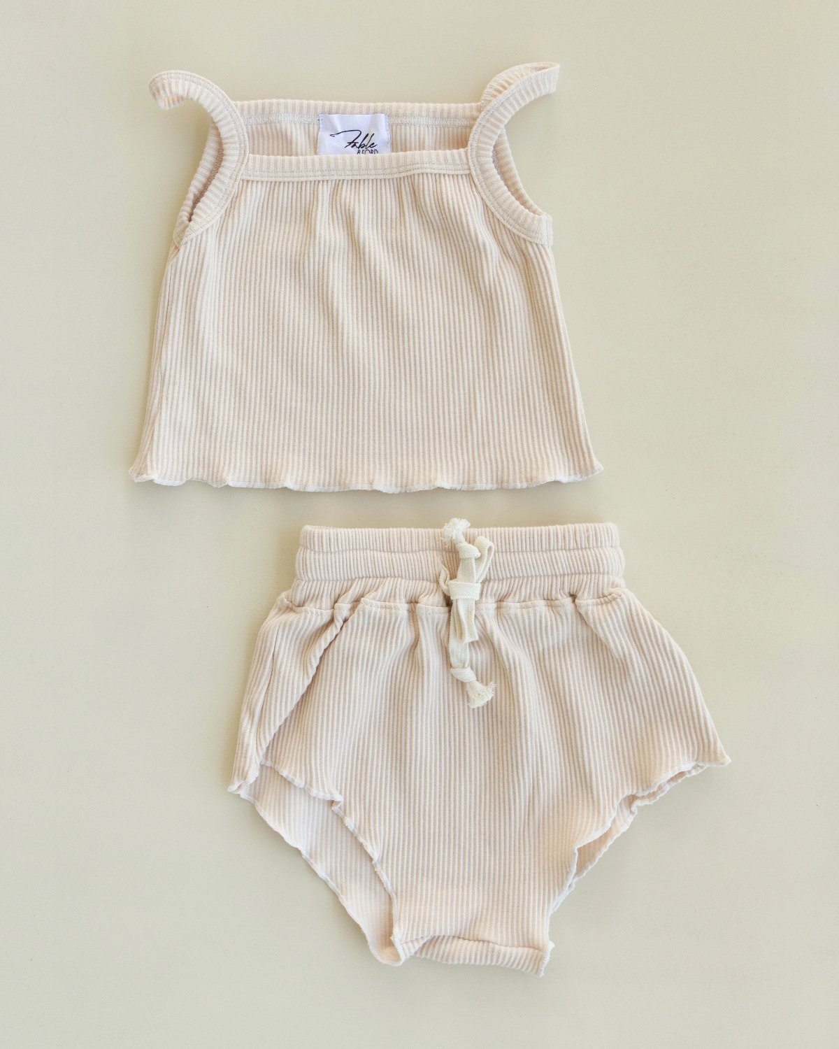 US stockist of Fable & Ford's 2Pc Vanilla Ariel Set