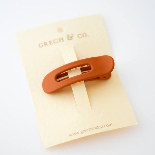 US stockist of Grech & Co matte Spice Single Grip Hair Clip