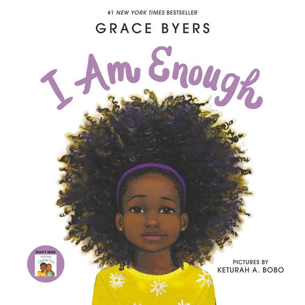 Stockist of Grace Byer's children's book; I Am Enough